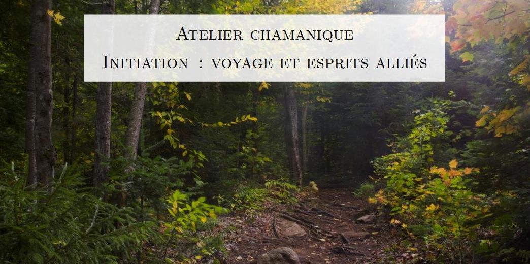 Atelier d'initiation au chamanisme - Voyage et esprits alliés